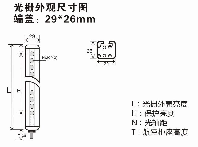 安全光栅ls2e30-450q8接线图